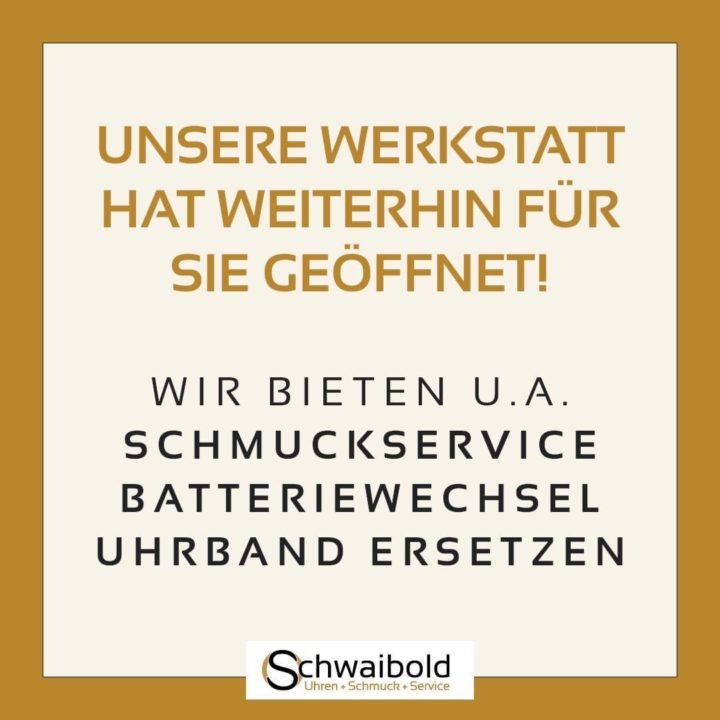 Schwaibold Uhren + Schmuck + Service